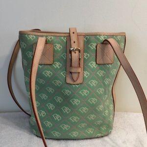 Dooney and Bourke shoulder bag 10 x 11 1/2 x 5 1/2